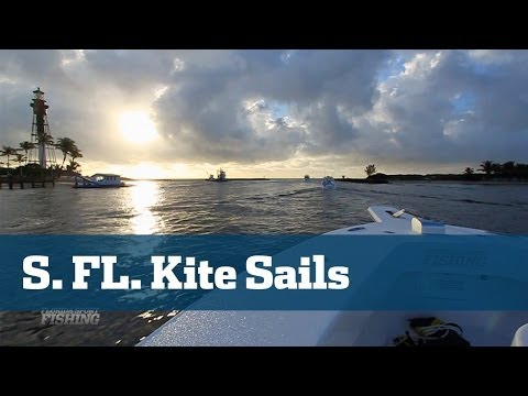 Super Kite Fishing For Sailfish Off Southeast Florida