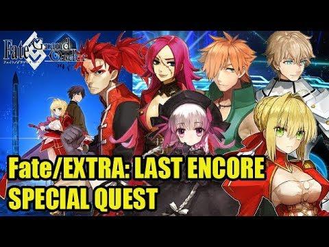 [Fate/Grand Order] Fate/Extra Last Encore Special Quest