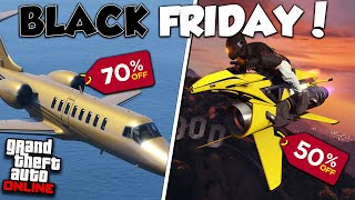 INSANE GTA ONLINE BLACK FRIDAY DISCOUNTS & IMPORTANT DLC UPDATE!