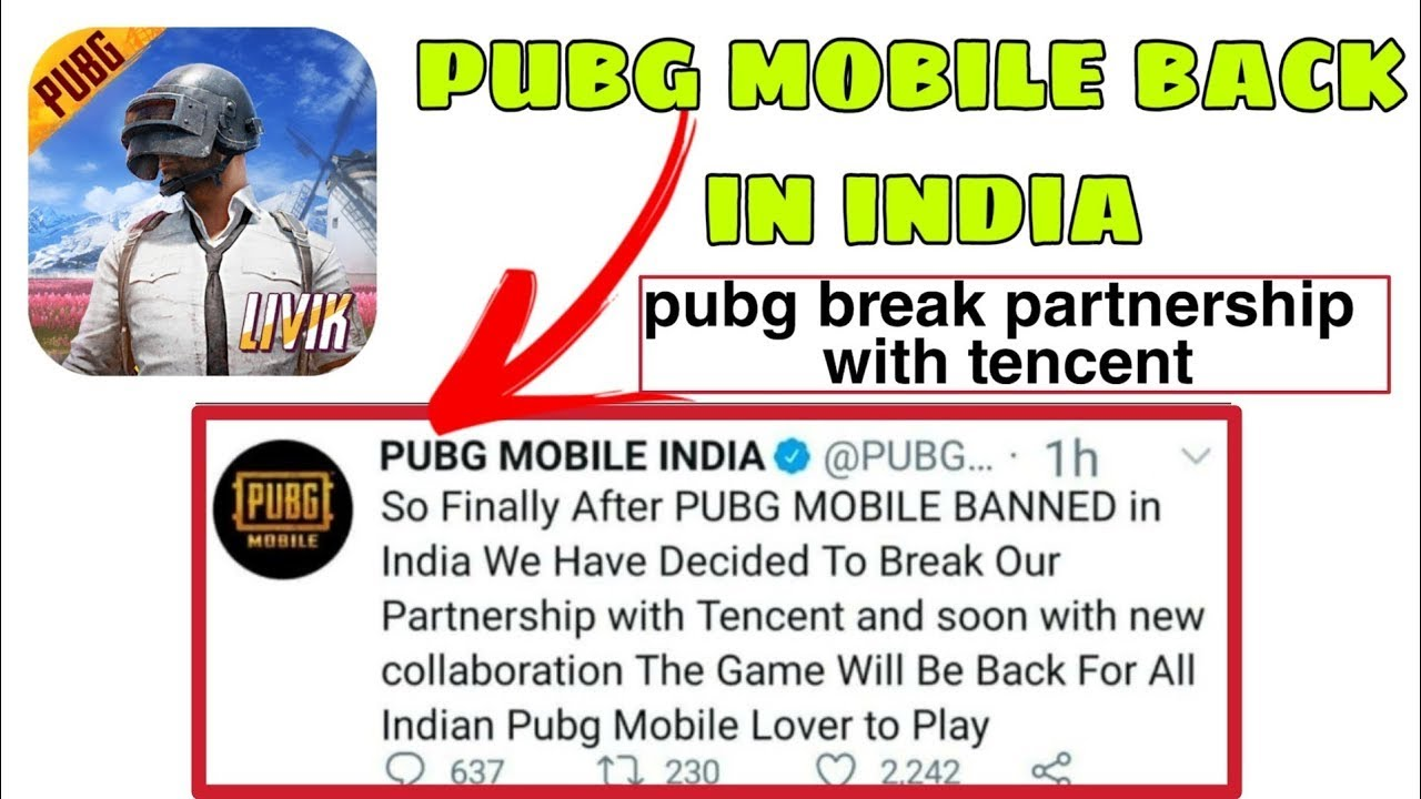 Pubg Mobile Back In India Latest News😍😍😍│How Pubg Mobile Back In India🤔🤔🤔