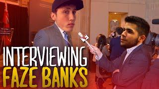 INTERVIEWING FAZE BANKS!
