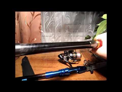 2.7 M 8.86FT Fishing Rod Travel Spinning Fishing Rod Pole - Cпиннинг с Banggood