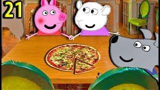 Мультики Свинка Пеппа  Сьюзи и Энди едят пиццу  Пеппа призналась  Мультфильмы для детей на русском