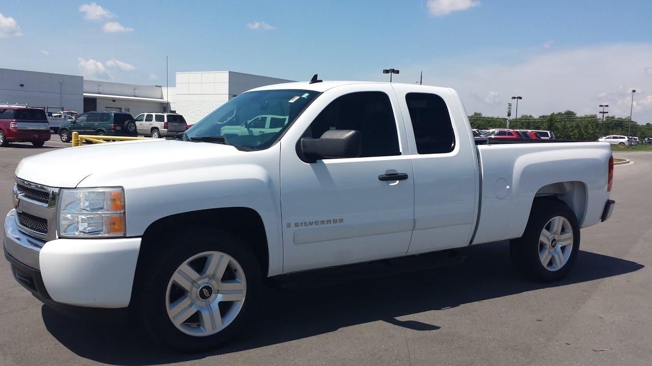 Sold 2007 Chevrolet Silverado 1500 Lt Texas Edtion Extended Cab 4x2 84k Call 855 507 8520 You