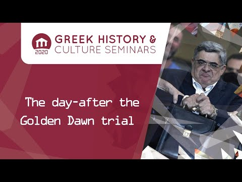The day after the Golden Dawn Trial | Seminars 2020 | Greek Community of Melbourne