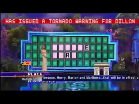 Wbtw Emergency Alert System Tornado Warning Dillon