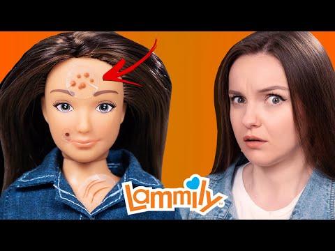 Кукла с прыщами и целлюлитом! Обзор и распаковка Lammily