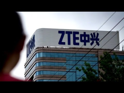 Trump tweets support for embattled Chinese telecom company ZTE