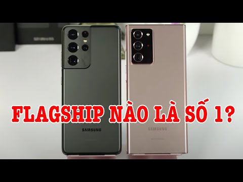So sánh Galaxy S21 Ultra vs Note 20 Ultra 5G : Nên mua Flagship nào?