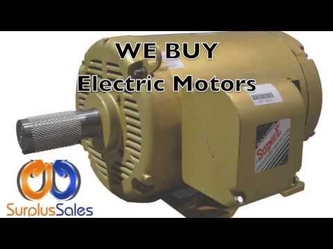 Buyer of Electric Motors- Surplus Sales USA