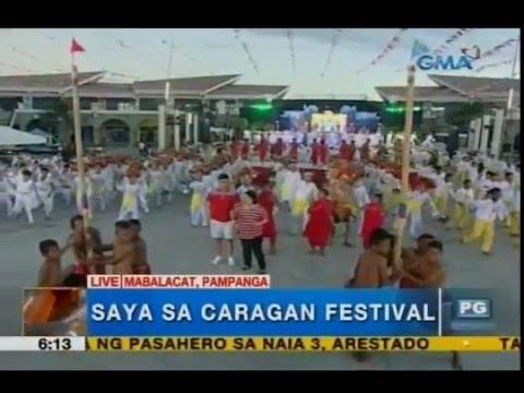 'Unang Hirit,' nakisaya sa Caragan Festival sa Mabalacat, Pampanga