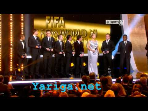 11 Best player of 2011 FIFA Ballon d'Or 2012