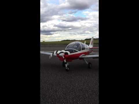 Alan Lills Scottish Aviation Bulldog