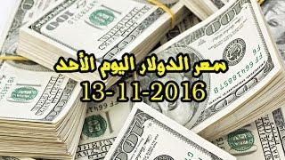سعر الدولار اليوم الأحد 13-11-2016 فى البنوك والسوق السوداء