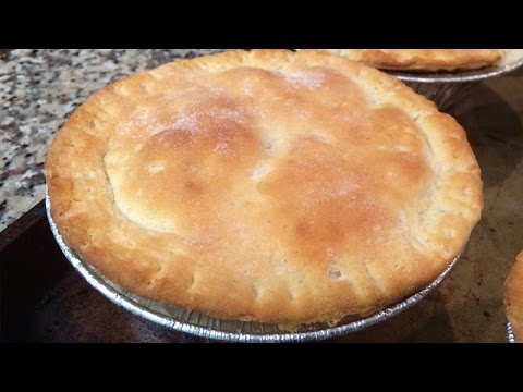 Mini Turkey Pot Pies, Leftovers From Thanksgiving Recipes...