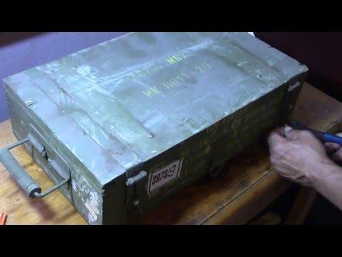 Yugoslavian Surplus Ammo Uncrate