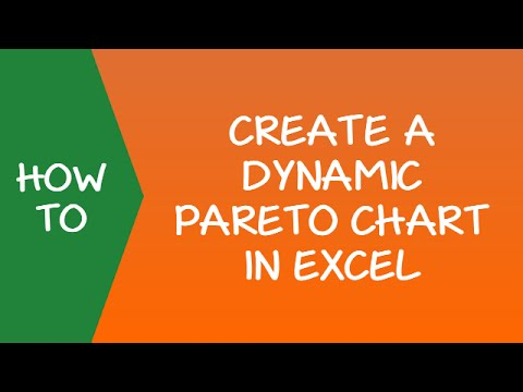 How to Create a Dynamic Pareto Chart in Excel