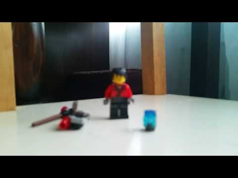 Fortnite Lego Pulse Axe Crimson Scout In Back-up Plan Mini Sheald