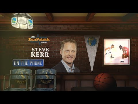 Golden State Warriors Head Coach Steve Kerr on The Dan Patrick Show | Full Interview | 5/14/18