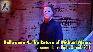 Halloween 4: The Return of Michael Myers highlights from Halloween Horror Nights Orlando 2018