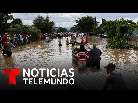 Así quedó Villanueva, Honduras tras el paso del huracán Eta   Noticias Telemundo