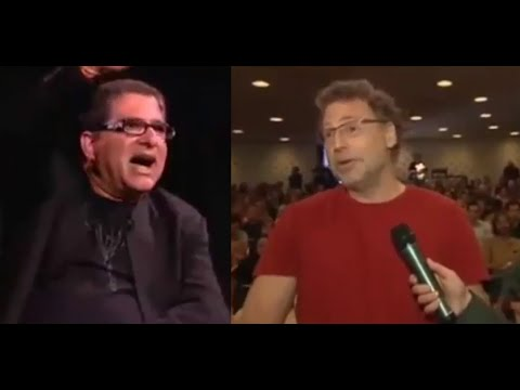 Quantum Physicist asking question to Deepak Chopra