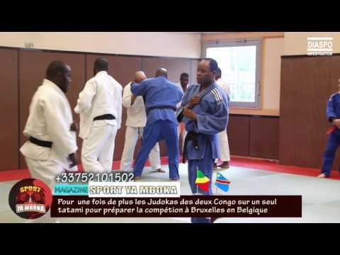 JUDO: LES DEUX CONGO SUR UN MÊME TATAMI POUR UNE COMPETITION