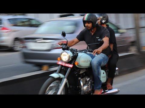 People's Reaction While Riding Jawa Classic & Jawa Forty Two | Test Ride JAWA Bikes
