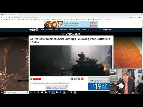 EA Loses Over $300M On Battlefield 5 - GET WOKE GO BROKE