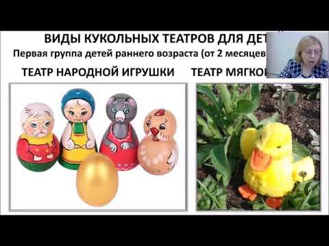 Кукольный театр для детей младшего дошкольного возраста