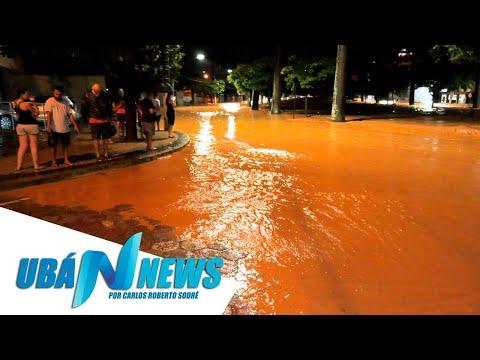 Ubá Enfrenta A Maior Enchente De Sua História - Ubá News