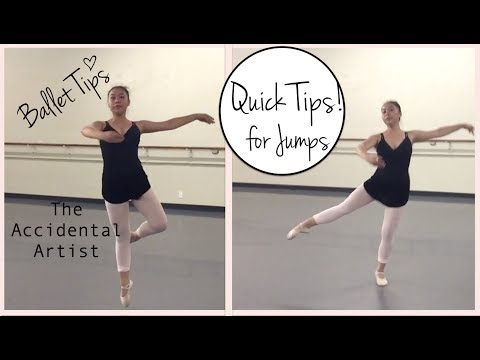 How to jump higher in petit allegro. Ballet center jumps. Quick ballet teacher tips!