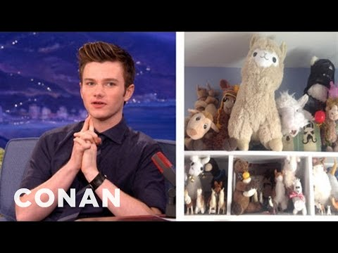 Chris Colfer's Llama Obsession Is Getting Serious - CONAN on TBS