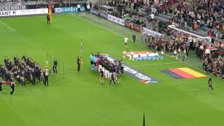 National anthems LIVE 1080p Germany - France (Nations League, 6.9.18)