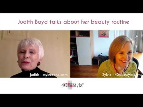 How to stay youthful - A beauty interview with Judith Boyd