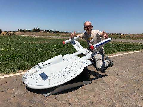 Star Trek Enterprise NX 01 First flight