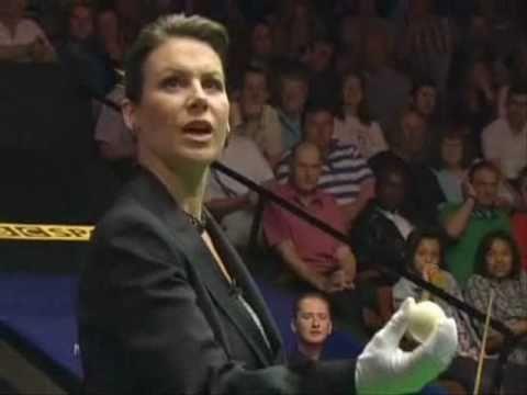 Michaela Tabb Picks Up The White Ball By Mistake (2010 World Championship)