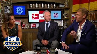 Kate Abdo, Warren Barton, and Alexi Lalas on Bayern Munich's first loss of the season | FOX SOCCER