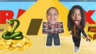 ESCAPE THE PYRAMID OBBY In Roblox! - Shiloh and Sinead - Playonyx