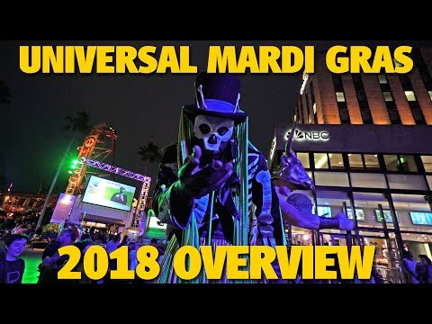 Universal Mardi Gras 2018 Overview | Universal Orlando
