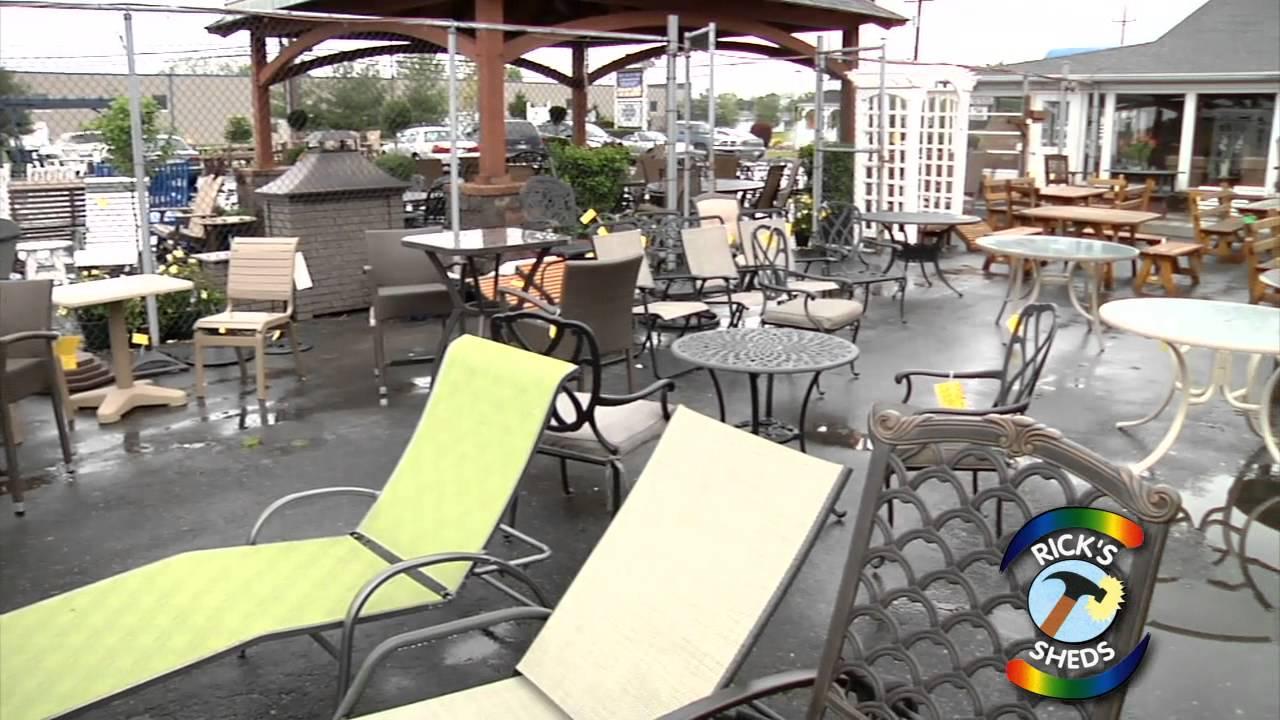 Ricks sheds gazebos outdoor furniture