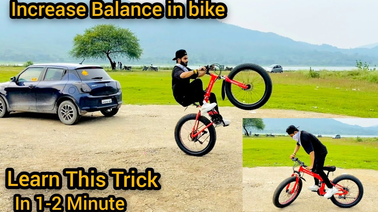 Increase Control In Bike Scooty || How to Balance Monster Cycle || Trick