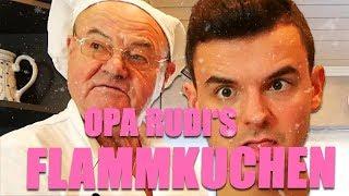 Opa Rudi's Flammkuchen backen mit Tourette