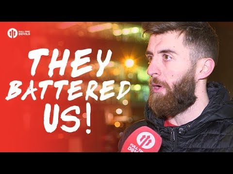 They Battered Us! Manchester United 1-2 Manchester City FANCAM
