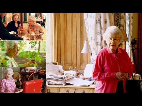 A minute-by-minute glimpse into the Queen's daily routine - One's jolly busy day