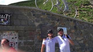 Tourmalet 2018 - Alex en Davey v Leersum