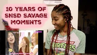 10 years of SNSD Savage moments [SNSD REACTION] - Stafaband
