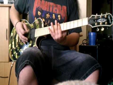 System of a Down - Prison Song guitar cover - by ( Kenny Giron ) kG