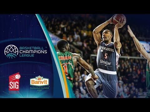 SIG Strasbourg v Banvit - Full Game - Basketball Champions League