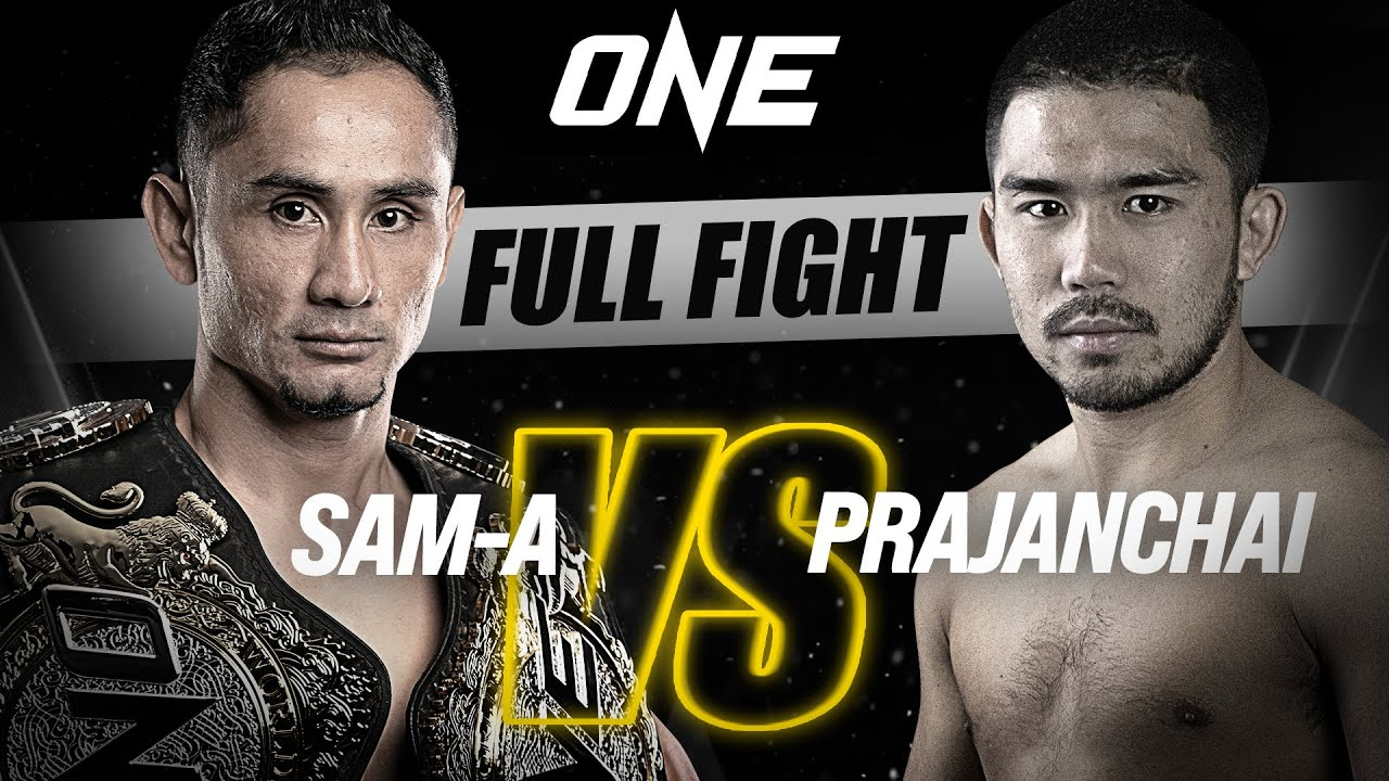 Sam-A vs. Prajanchai | ONE Championship Full Fight